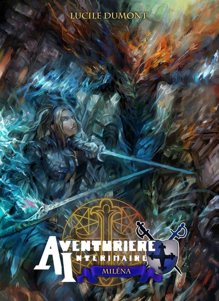 La couverture du light novel