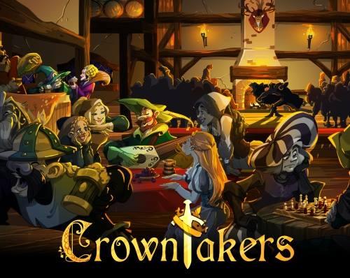 """Le jeu """"Crowntakers"""", scénarisé par Laurent Pendarias, source d'inspiration pour les missions des aventuriers intérimaires."""