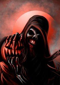 Couramment confondue avec La Mort, la faucheuse est une créature des enfers chargée de récolter les âmes des mourants. Il est possible de négocier avec ou de l'affronter mais nul n'échappe à la mort éternellement.